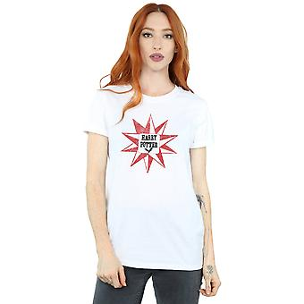 Harry Potter Women's Hedwig Star Boyfriend Fit T-Shirt