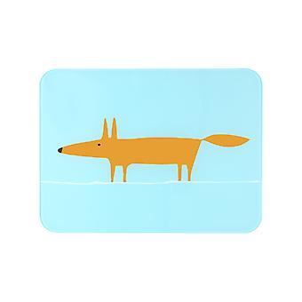 Scion Mr Fox Blue and Orange Worktop Saver 30x40cm