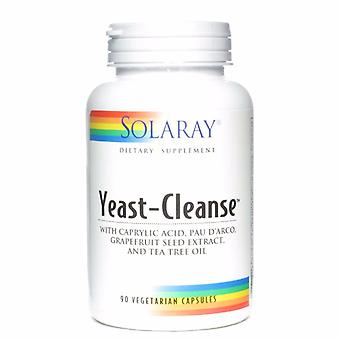 Solaray Yeast-cleanse, 90 capsules