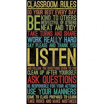 Classroom Rules Poster Print by Dee Dee (9 x 18)