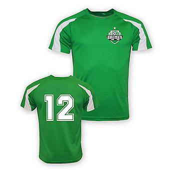 12 Werder Bremen Sporttraining Jersey (grün)