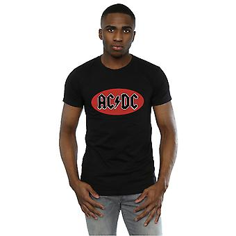 AC/DC Men's Red Circle Logo T-Shirt