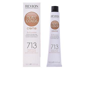 Revlon Nutri Color Creme #713-escarchado Beige 100 Ml Unisex