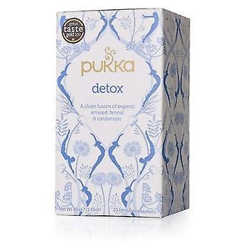 PUKKA органических Детокс травяной чай