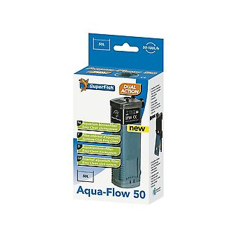 Superfish Internal Fish aquarium Filter -Aqua Flow 50 » 150 L/Ph