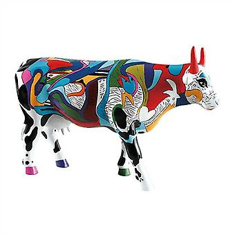 Cow Parade Ziv's Udderly Cool Cow (large)