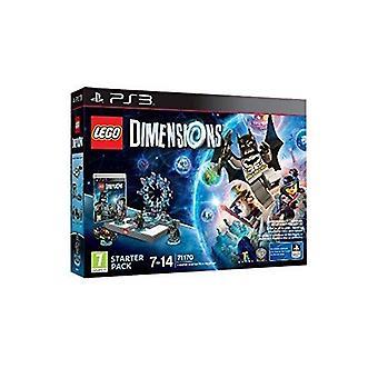 LEGO mitat Starter Pack PS3-peli