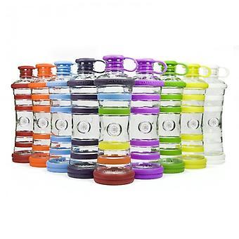 I9 water bottle Yoga bottle glass water bottle 650 ml, informed healthy water