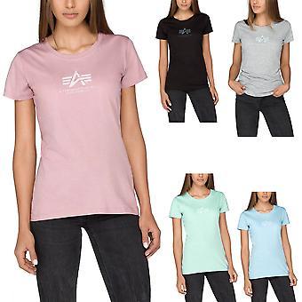 Alpha industries dames T-Shirt Basic T Wmn