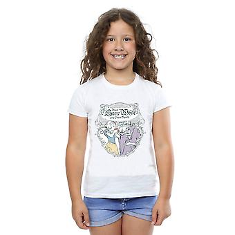 Дисней Принцесса девушки снег белый Apple Bite футболку