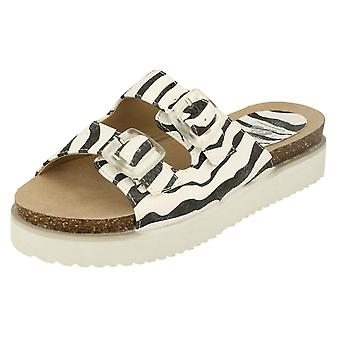 Ladies Down To Earth Mule Sandals