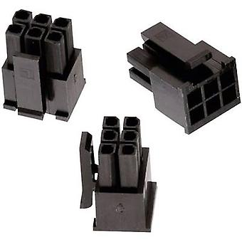 Würth Elektronik Socket enclosure - cable WR-MPC3 Total number of pins 4 Contact spacing: 3 mm 662004113322 1 pc(s)