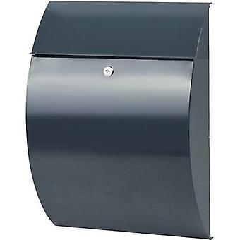 Letterbox Burg Wächter 38690 RIVIERA 835 ANT Steel plate Anthracite Key