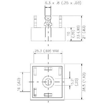 Vishay 36MT160PBF Diode bro D 63 1600 V 35 A 3-fase