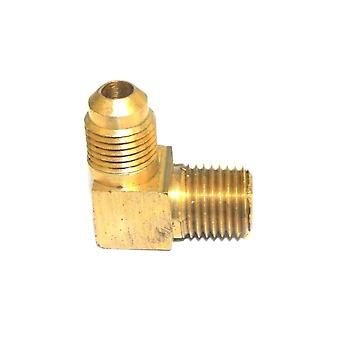 Big A Service Line 3-14932 90 deg Male To Male Elbow Brass Fitting 3/16