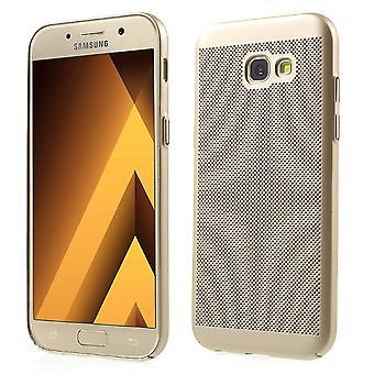 Caso de telefone celular para Samsung Galaxy A3 2016 manga caso saco capa caso ouro
