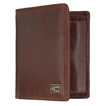 Sac à main camel active mens wallet portefeuille avec protection puce RFID Cognac 7322