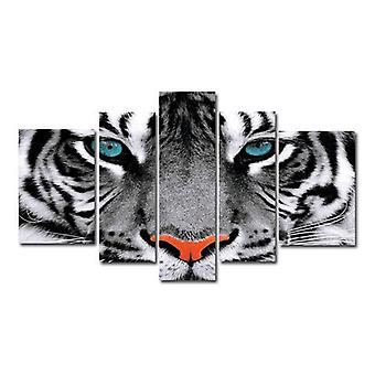 Tiger, lærred, 180x100 cm