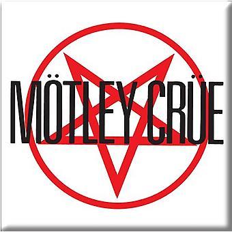 Motley Crue Fridge Magnet band Logo new Official 76mm x 76mm