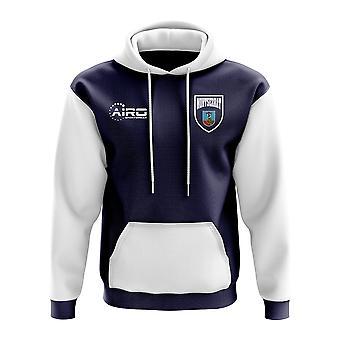 Montserrat concepto país fútbol con capucha (Armada)