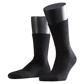 Falke Melange Walkie lys Midcalf sokker - antrasitt