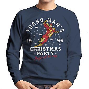 Jingle All The Way Turbomans Natale partito felpa