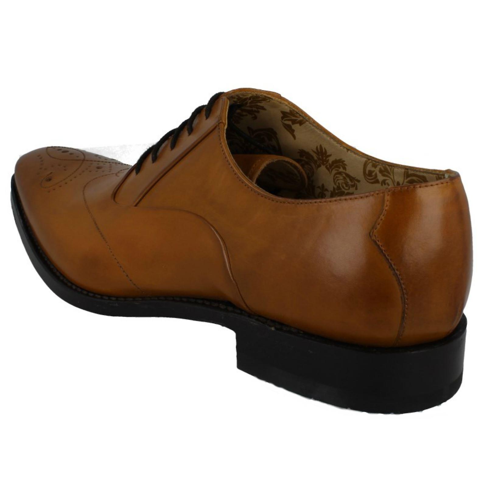 STRINGATE in pelle Smart Mens Loake scarpe Gunny sVVAsT