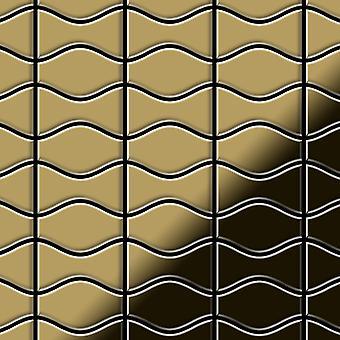 Metal mosaic Titanium ALLOY Kismet-Karma-Ti-GM