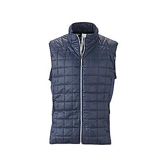 James and Nicholson Mens Hybrid Vest