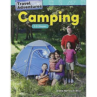 Reis avonturen: Camping: 2D-Shapes (kleuterschool) (wiskunde lezers)