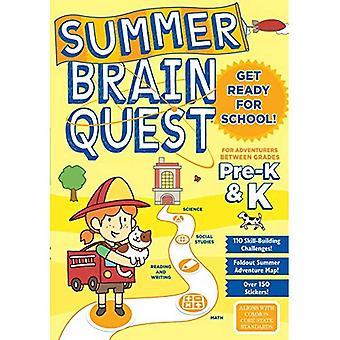 Quête de cerveau d'été: Pour les aventures entre catégories Pre-K & K (Summer Brain Quest)