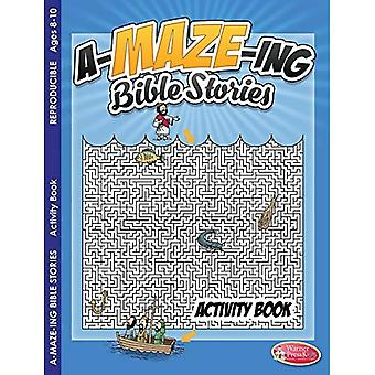 Coloring & Activity Book - A-Maze-Ing Bible Stories (8-10): 6-Pack Coloring & Activity Books