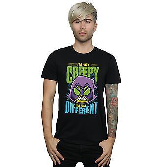 DC Comics miesten Teen Titans mennä kammottava korppi t-paita