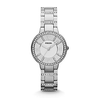 Fossil Analog Women with metal plated stainless steel ES3282