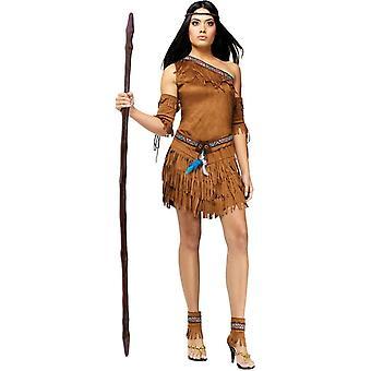 Intian nainen aikuinen puku