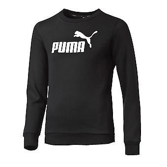 Puma essentiel n ° 1 Kids Sports Crew Sweatshirt pull noir