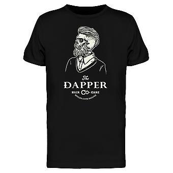 Dapper Gentleman skjelett Tee menn-bilde av Shutterstock
