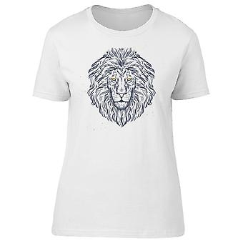 Lion With Yellow Eyes Tee Men's -Image by Shutterstock