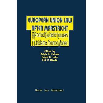 Diritto dell'Unione europea dopo Maastricht guida una pratica per avvocato di Folsom & Ralph H.