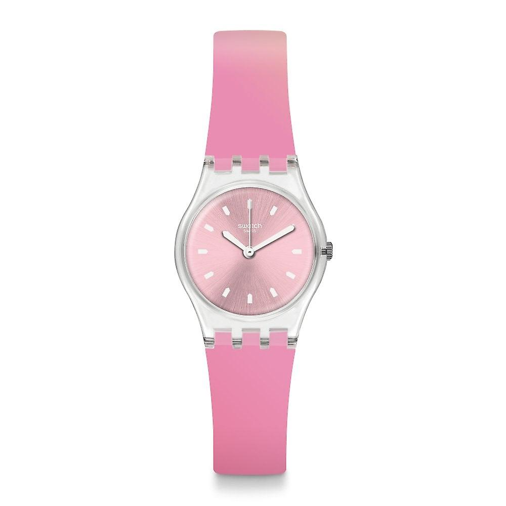 Swatch Lk380 Sonnenaufgang Pink Silicone Watch
