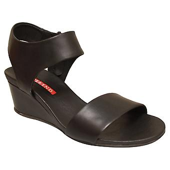 Pedro Miralles Ankle Strap Wedge Sandal