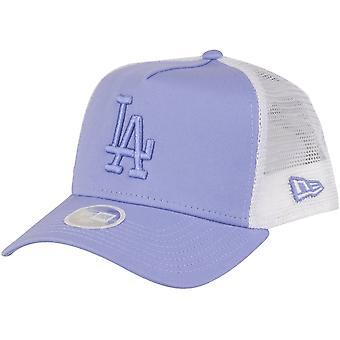New Era Women's Trucker Cap-Los Angeles Dodgers lavendel