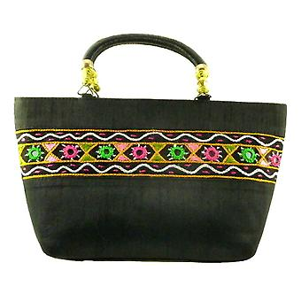 Silk Handbag Divya 02 Silk Sauvage at Pashmina & Silk