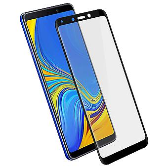 Galaxy A9 2018 Protection Film Tempered Glass 9H Beveled Edges 11D black