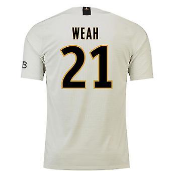 2018-19 PSG Away jalka pallo paita (Weah 21)