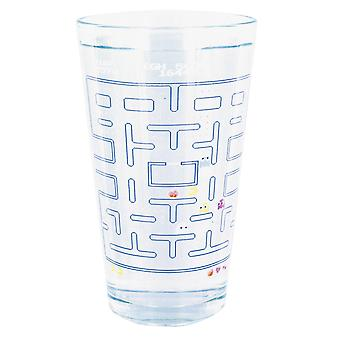 PAC-MAN thermal effect glass printed glass, capacity approx. 320 ml., comes in a gift box.