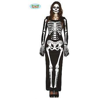 Costumes de femmes Skeleton Dress Halloween pour dames