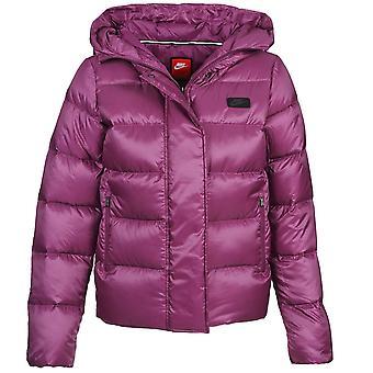 Nike Women's 550 Fill Down Uptown Hooded Jacket - 683898-563
