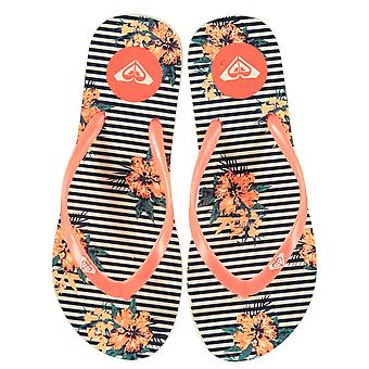 Roxy Womens Ladies Print FlipFlop Flip Flops Summer Shoes Outdoors