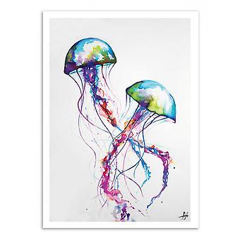 Kunst-poster-Narasumas-Marc Allante 50 x 70 cm